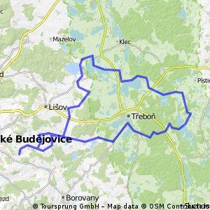 Třebotovice - Dvořiště - Stříbřec