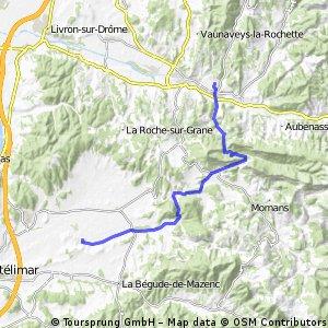 Saint-Gervais-sur-Roubion - Aouste