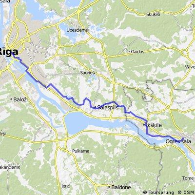 Rīga -Ogre