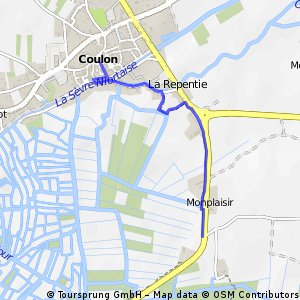 Cycling Routes And Bike Maps In And Around Coulon Bikemap Your