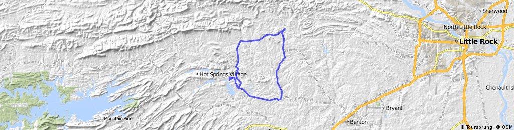 Mt. Ida- Hwy 9 - Paron   (43 Miles)