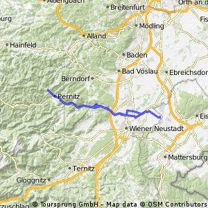 Vom Steibrunnersee zu den Myrafällen und zurück