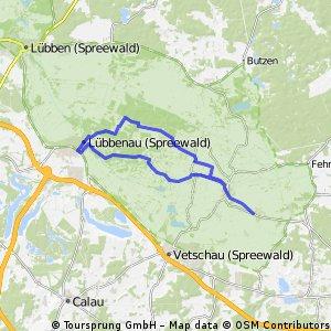 Spreewald - Streckenmodul 2C: Burg - Lübbenau