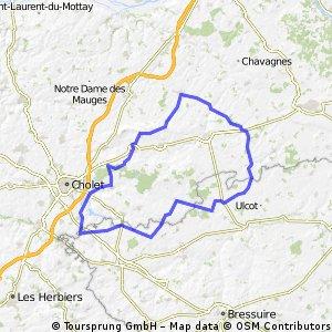 Les Cerqueux,Trémont,Valanjou,La Salle Vezins