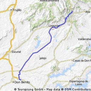 1_Etapa-Guadalupe-Villanueva de la serena-83km