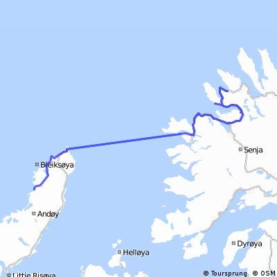 E26 Stave nach Esfjord