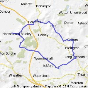 Brill, Shabbington Loop