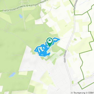MTB de Kempen route