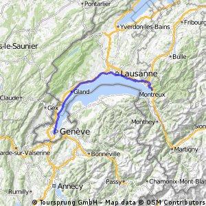 Genève-Montreux par vignobles (a la fin)