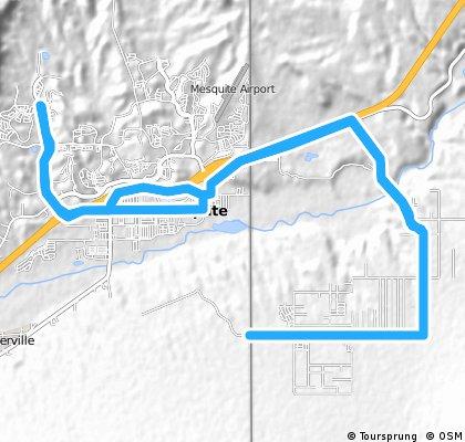 Sun City Bike Club Hard Ride 2 Out and Back Through Scenic Arizona