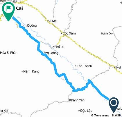J067 - lundi 16 mars 2015 - Lang Khay - Lao Cai