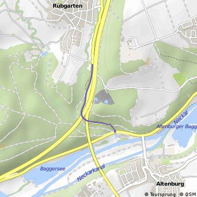 Hügelsprints kurz Rübgarten