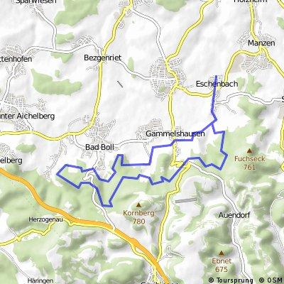 Eschenbach - Hörnle und zurück