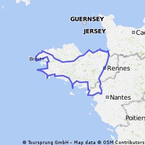 Tour de la Bretagne - Eté 2011