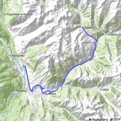 LIB Traversée Mont-Dauphin - Arvieux par les gorges du Guil