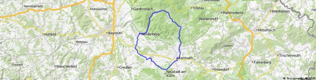 Kemnath -Fichtelberg - Weidenberg