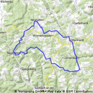 Löwensteiner Berge (Steinknickle-Limes-Tobelschlucht-Silberstollen)