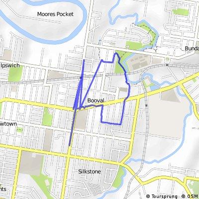 walk  Brisbane Road - Bridge Street