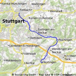 Neckar 2_Nürtingen_Bad Cannstatt