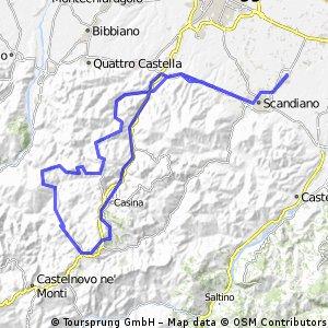 Arceto - Casina - Trinità e ritorno