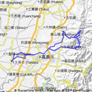 Chiayi Meishan/Zhuqi Tour