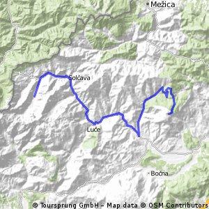 Golte - Ljubno - Logarska dolina