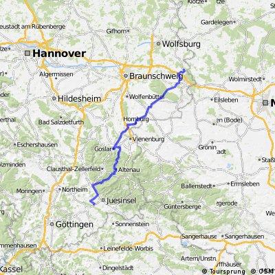 5.2 diena Osterode am Harz - Mariental