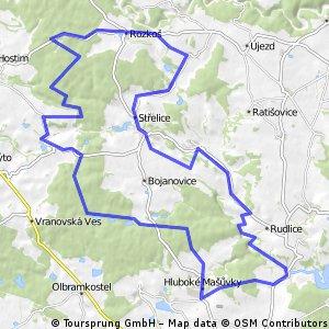 Jevišovice-53km
