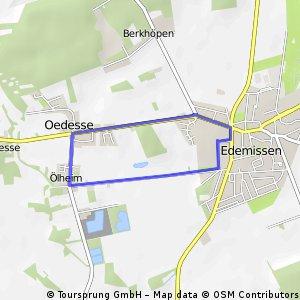 kl.Runde Edemissen - Oedesse - Oelheim - Edemissen