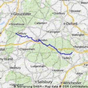 Tetbury to Teddington