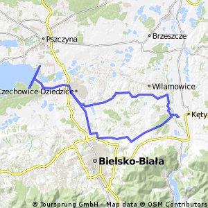 Zabrzeg, Jezioro Goczałkowickie, Czechowice-Dziedzice