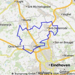 22-3-15 Rondje om St.Oedenrode
