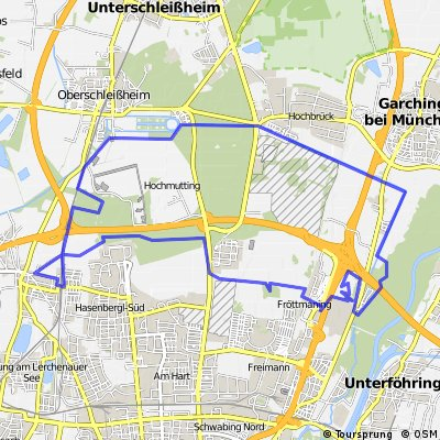Rundkurs Münchner Norden