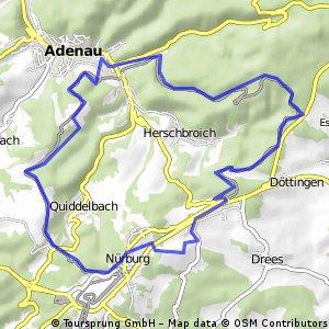 Einmal um den Nürburgring