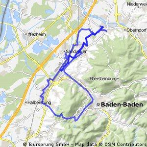 Kuppenheim zur Klosterschänke über Sinzheim