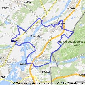 44.5 KM Reuver Maasduinen Route 72 Box
