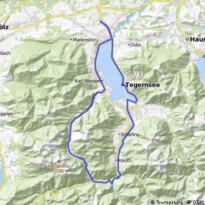 Tegernsee - Schwarzentennalm
