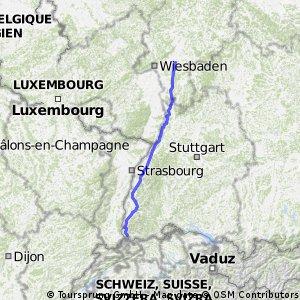 LÖR - FRA 353km
