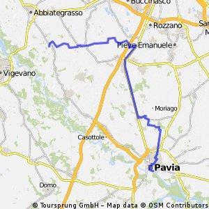 Pavia - Morimondo