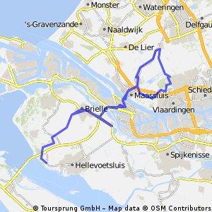 Route Broekpolder