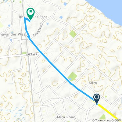Mira Bhayandar Road - Cabin Cross Rd