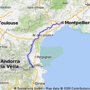 Montpellier - Grenze