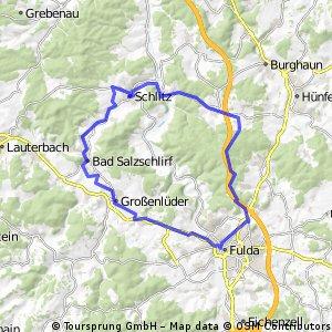 Lehnerz / Schlitz / Bad Salzschlirf / Grossenlueder / Lehnerz