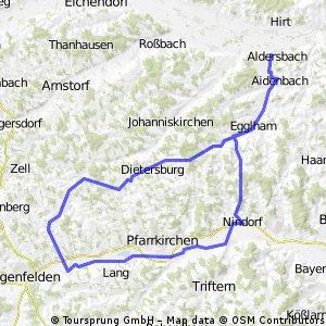 Aldersbach-Nindorf(Gertis)-Postmünster