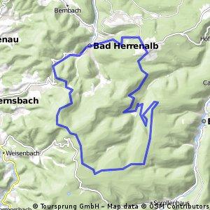 Herrenalb Grünhütte Rundweg