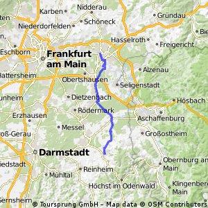 Hanau nach Groß-Umstadt