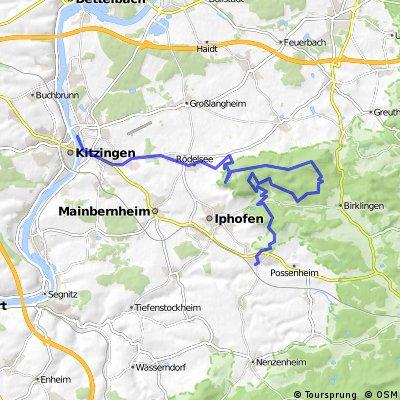 Kitzingen-Schwanberg-Kalbberg