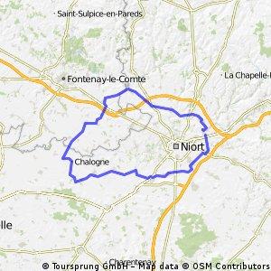 100km Chauray le 28 mars 2015