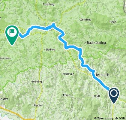 2014 Regentalradweg 02 Patersdorf - Roding