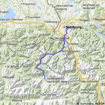 Salzburg - Saalfelden (Hirschbichl)